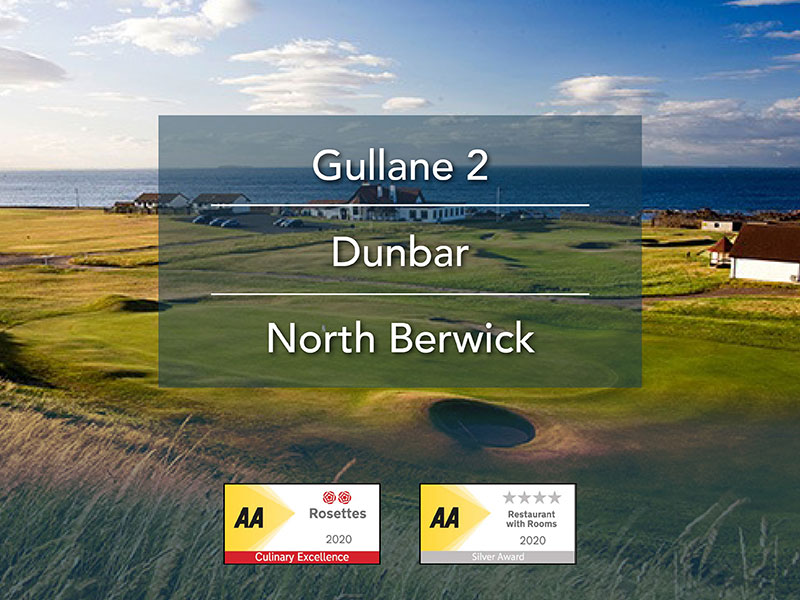 Image for 3 nights Dinner, Bed and Breakfast and 3 rounds of golf (From £430per person)